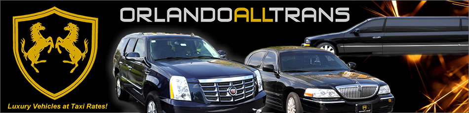 Orlando Florida best limo, town car, shuttle van, and FL bus transportation services and companies.